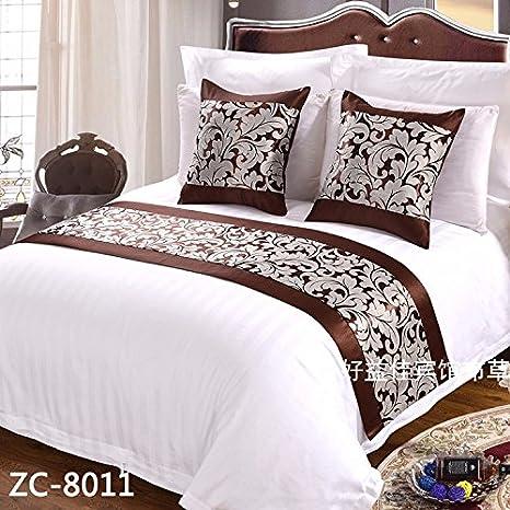 Ropa de cama cama Cama toalla gaestgiveriet hotel cama cubierta de colchon mesa bandera BANDERA,C: Amazon.es: Hogar