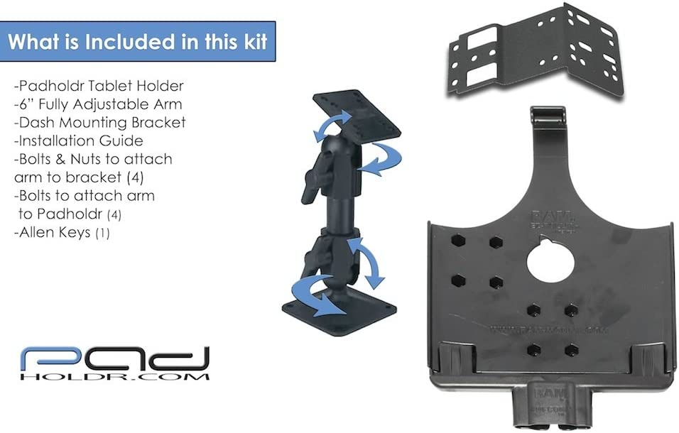 Padholdr Docking Series Economy Holder for 97-07 Ford F-250 F550 F650 and F750 Pad Holdr PHD2751072399-2 350 SD F450