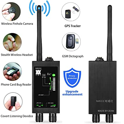 Bug Detector Anti spy RF Signal Detector GPS SPY Monitor Detector Anti Tracking Strong Magnetic Detector