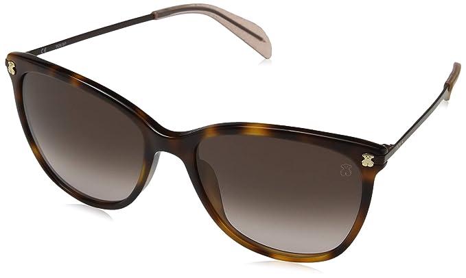 Tous Mujer n/a Gafas de sol, Marrón (Shiny Brown Havana ...