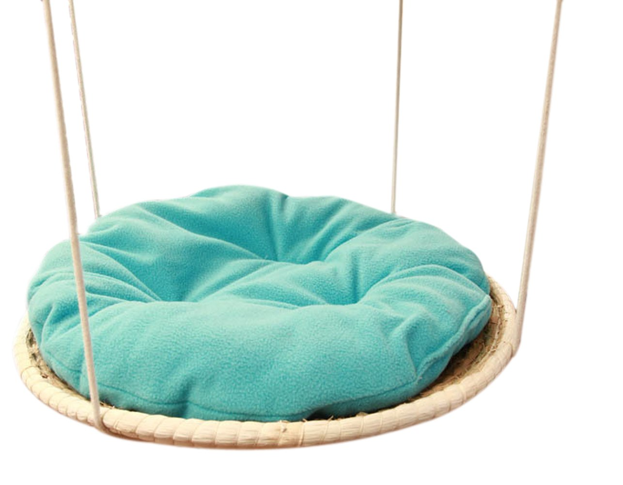 Chickle Hand Made Woven Cat House Bed Hanging Hammock Pet Supplies for Small Animal by Chickle