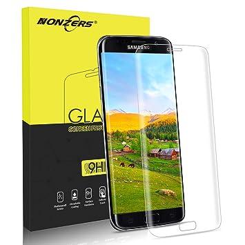NONZERS Protector de Pantalla para Samsung Galaxy S7 Edge ...