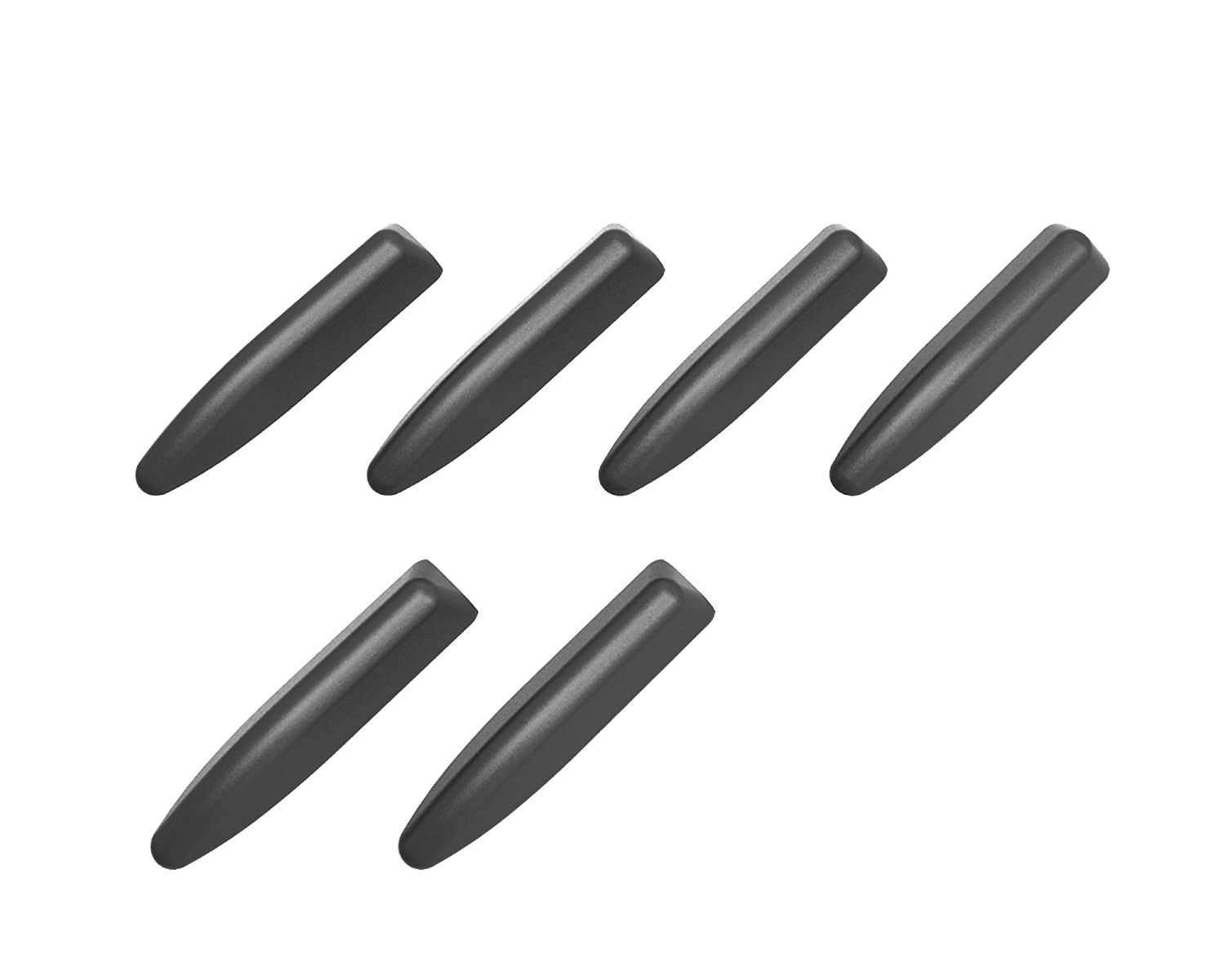 EXEA SEIKOSANGYO CO,LTD EW-137 Aerodynamic Vortex Generator Design Protector Black Color Angular Shape 6 Pcs.