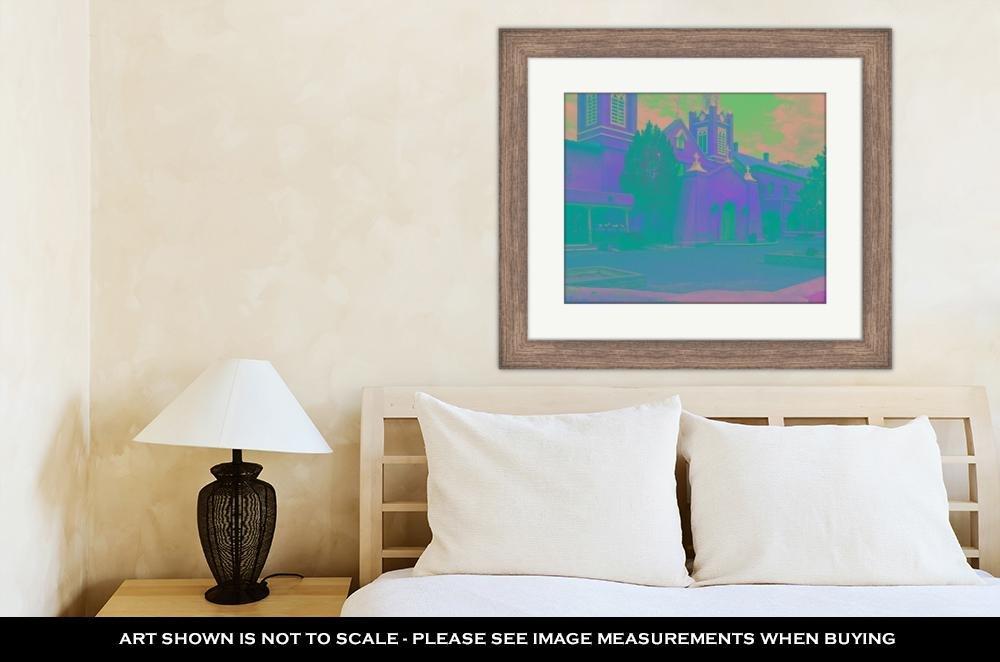 Amazon.com: Ashley Framed Prints Albuquerque Church, Wall Art Home ...