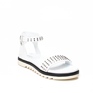 0745e469328f sandals ARMANI JEANS women 925131 7P529+00010 white - 40  Amazon.co ...
