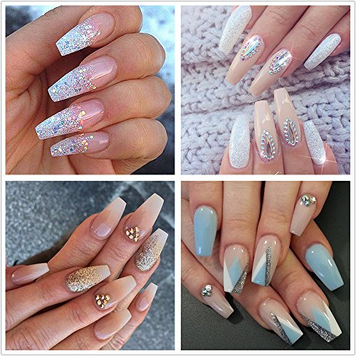 Clear Acrylic Nails, You Say? Check These Out For a DIY ...
