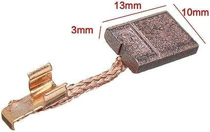 Carbon Brush Fit For MAKITA CB-440 BHP458 18V BDF452 BHP454 13x10x3mm