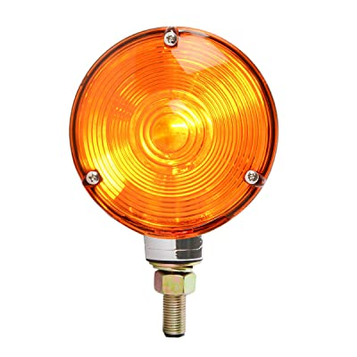 GG Grand General 80501 Amber Light (Clear Die Cast 1 Face Combination, 3 Holes): Automotive