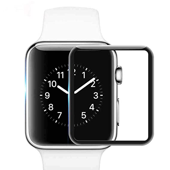 Larnn Update Apple Watch Screen Protector HD Clear for 40mm Series 4  Anti-Bubble/Waterproof & Reusable-2 Pack