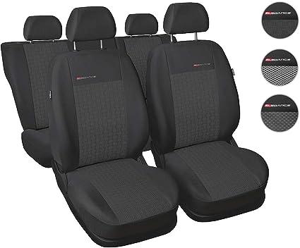 Graue Sitzbezüge für TOYOTA RAV4 Autositzbezug VORNE