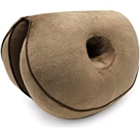 Beautiful Buttocks Seat Cushion, FOONEE Comfort Memory Foam Dual Lift Hips Up Seat Pad Posture Support Cushion, Suitable for Sedentary Office Workers Drivers Students