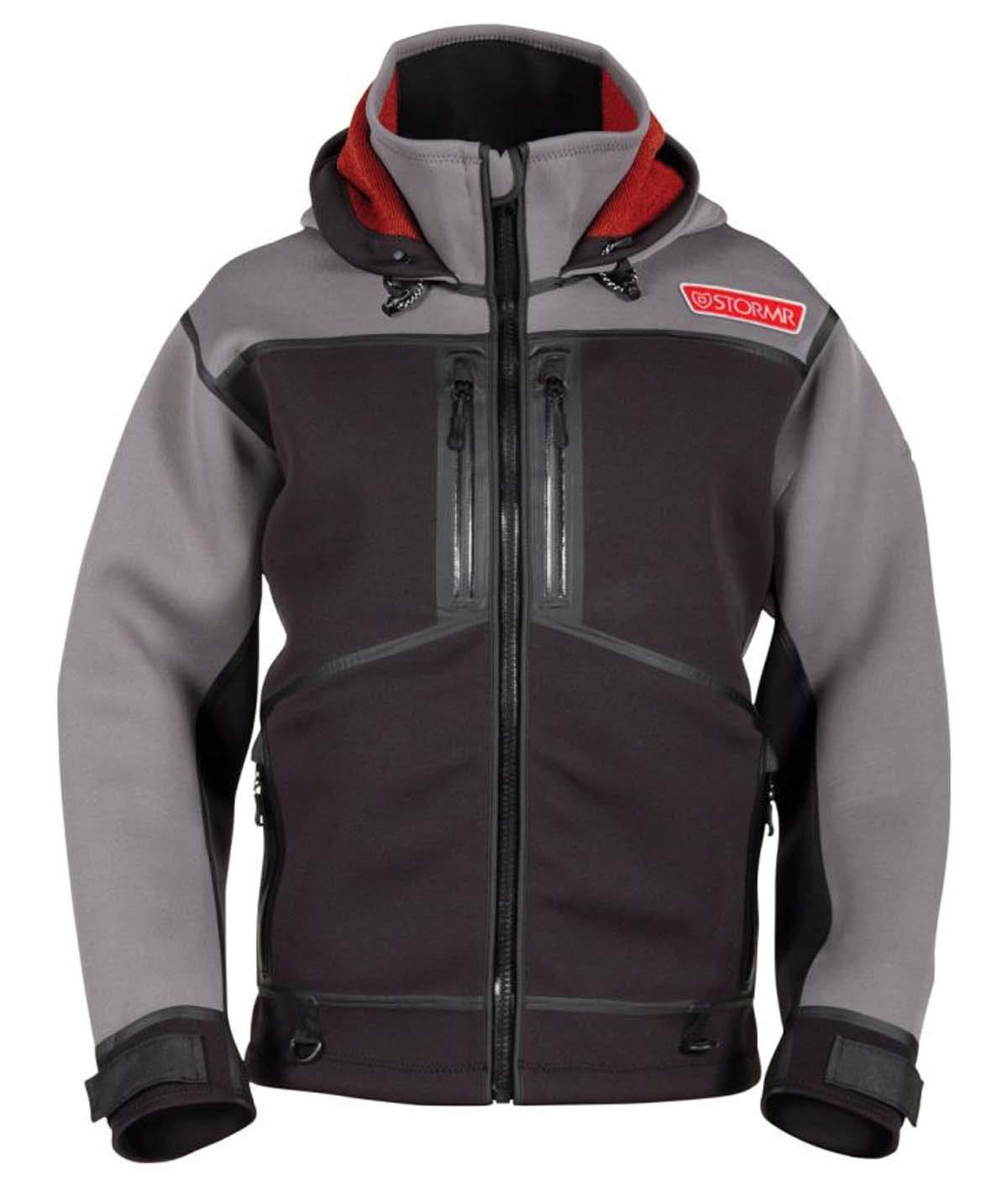 STORMR Strykr Neoprene Jacket, Gray, Small
