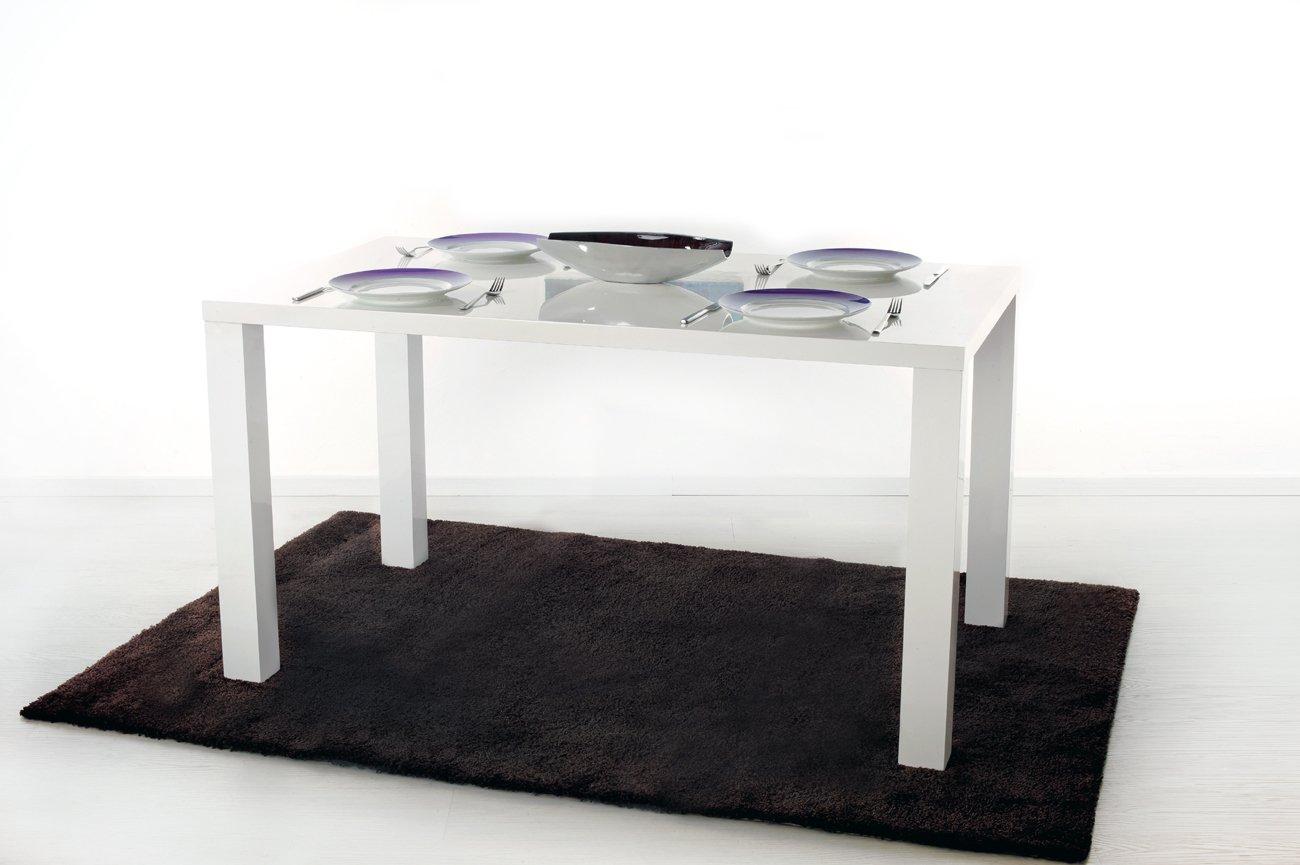 Esstisch Esszimmertisch Wohnzimmertisch Loungetisch Tisch Hochglanz Weiss 120 X 80 Cm Wohnzimmer Esszimmer Kche Brombel Bro Gastro Gastronomie