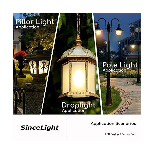 Lampadina a LED con doppio sensore di luce solare • 9 Watt • dal tramonto all'alba • ON/OFF automaticamente • 2 Pezzi… 5 spesavip