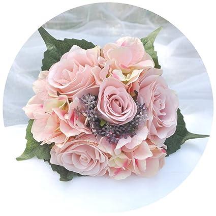 1083d415c3dc ULAPAN damigella d  onore mazzo di fiori artificiali
