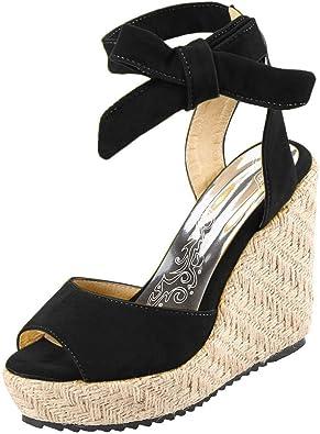 Chaussures CompenséEs Femme Sandales Talon Compensé Chic