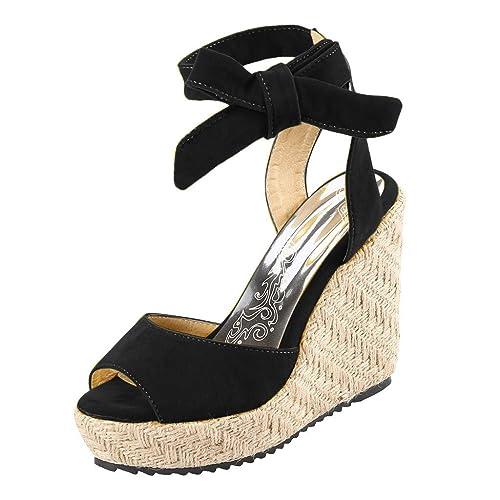 tout neuf 0d5af c7792 Chaussures CompenséEs Femme Sandales Talon Compensé Chic ...