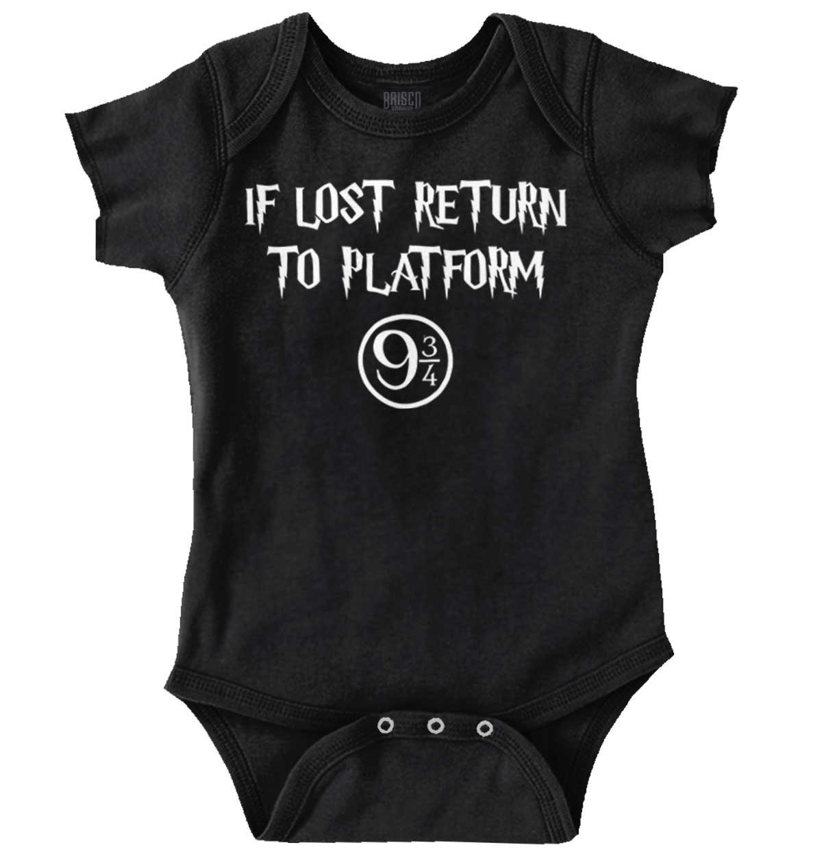 Brisco Brands Lost Return Platform 9 3/4 Funny Shirt Cool Harry Gift Potter