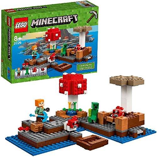 5 opinioni per LEGO Minecraft 21129- l'Isola dei Funghi