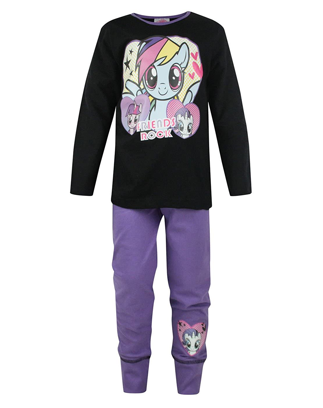 Official My Little Pony Friends Rock Girl's Pyjamas