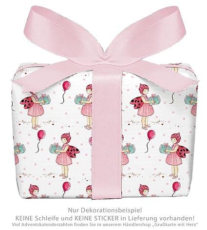 Juego de 5 unidades: 5 hojas de papel de regalo para niños ...