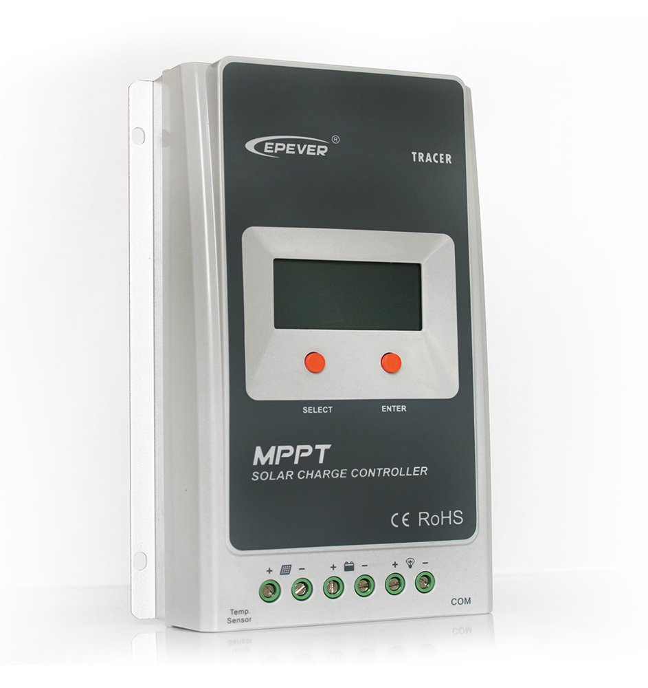 GED 10A 12V/24V DC MPPT Solar Charge Controller Tracer A 1210A