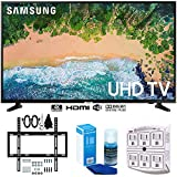 Samsung UN43NU6900 43' NU6900 Smart 4K UHD TV (2018) w/Wall Mount Bundle Includes, Wall Mount Kit for 19-45 inch TVs, Screen Cleaner (Large Bottle) and SurgePro 6-Outlet Surge Adapter w/Night Light