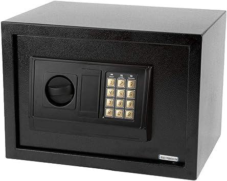 "12.5/"" Electronic Digital Lock Keypad Safe Box Cash Jewelry Gun Safe Black New"