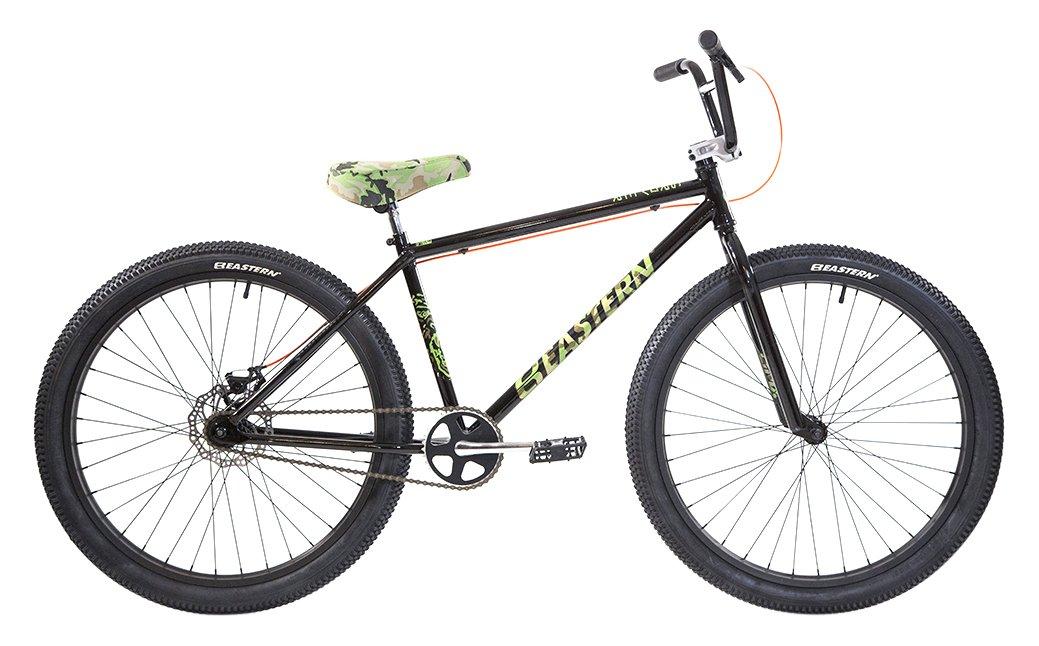 Eastern Bikes Growler 26'' Cruiser Bike, Black, 14.5''/One Size