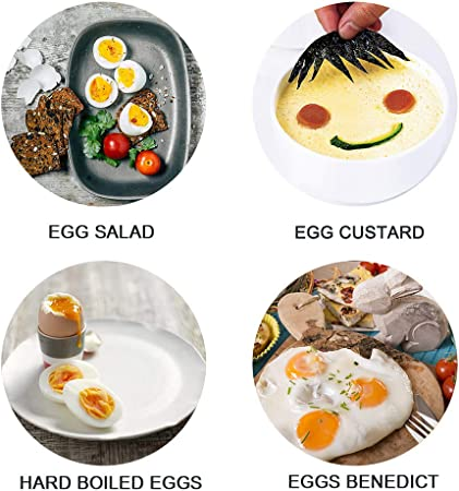 Amazon.com: VOBAGA - Olla eléctrica para huevos y ...