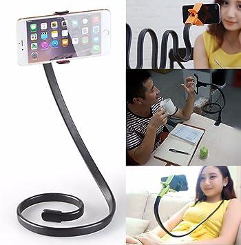 Soporte universal Stand ajustable milleusi phoseat mesa cama selfie para Smartphone UM1: Amazon.es: Electrónica