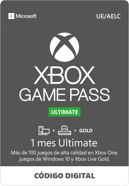 Suscripción Xbox Game Pass Ultimate - 1 Mes | Xbox One/Win 10 PC ...
