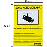 Wolfpack 15050920 Cartel Zona Videovigilada 30x21.