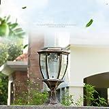 Modeen Continental Victoria Solar LED Outdoor Glass