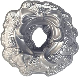 product image for Nordic Ware Platinum Holiday Wreath Bundt Pan