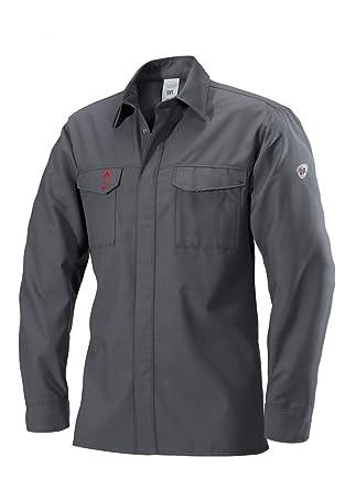BP 2403 825 53 - Camisa (talla 54N), color gris oscuro ...