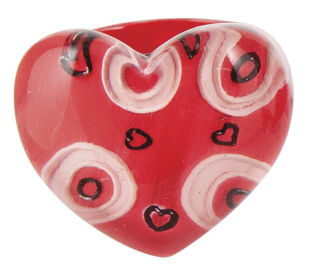 Amazon.com: Ganz Red Heart Rings   Heart Valentines Ring   Heart Shaped  Valentines Fashion Ring: Toys U0026 Games