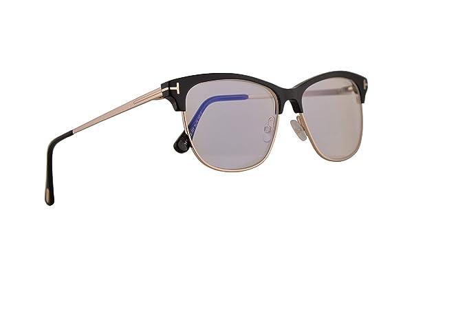 Tom Ford FT5546B Eyeglasses 54-14-140 Shiny Black w/Demo