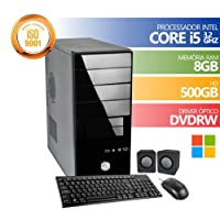 Computador Premium Brazil Intel Core I5 8gb Ddr3 HD 500Gb DVDRW Windows + KIT