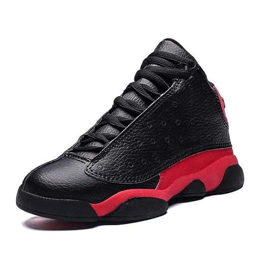 Zapatos de baloncesto de los niños, muchachas de los muchachos ...
