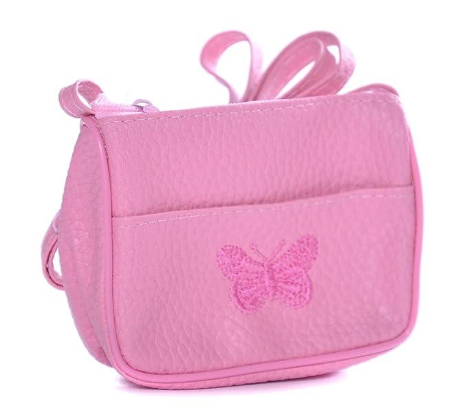 Niñas Butterfly Bordado Pequeño Bolso De Mano Y Hombro/Cartera - Ideal Bolsa Fiesta Rellenos para niñas, - rosa, Chica: Amazon.es: Ropa y accesorios