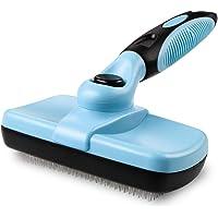 Blisscorner Dog Grooming Brush, Self Cleaning Slicker Cat Brush/ Dog Brush for Shedding and Grooming, Deshedding Brush…