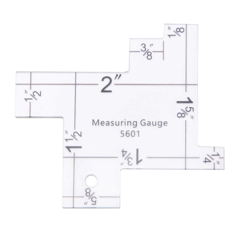 Metal Somometer Sewing Measuring Gauge Quilting Rulers Sewing Ruler for DIY Sewing Quilting Craft Accessories Crafts