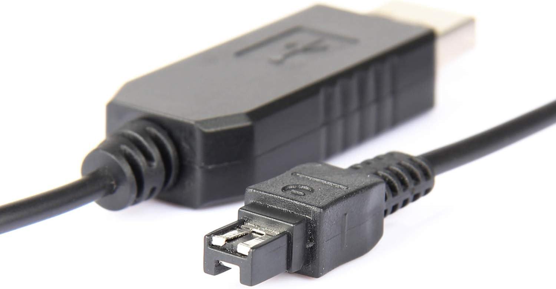 USB LCD Display Battery Charger for Sony DCR-SR65 DCR-SR67E Handycam Camcorder DCR-SR67 DCR-SR65E