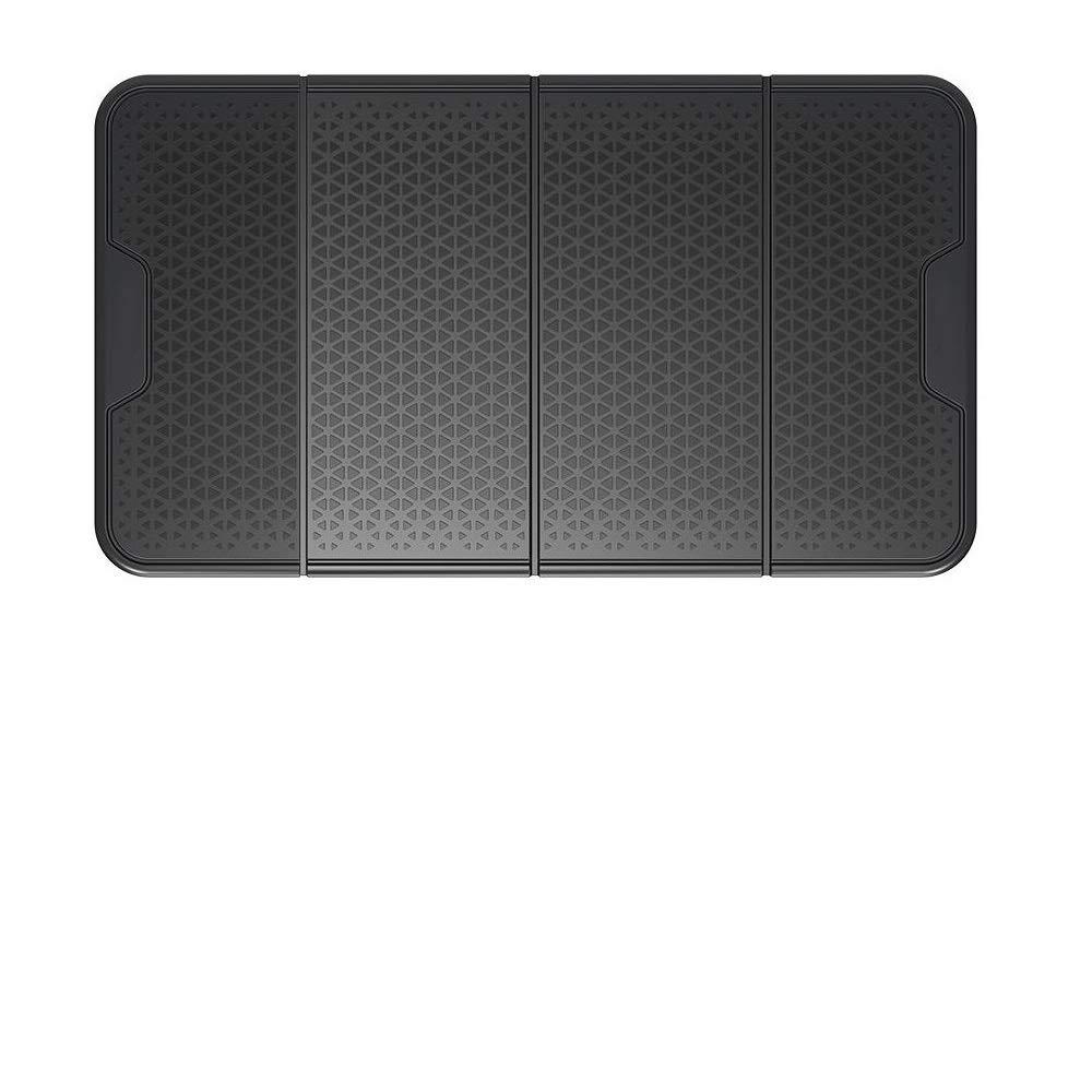 Sticky Car Dashboard Pad, Anti-Slip Gel, Non-Slip Dash Mat for Cell Phones, Radar Detectors, Sunglasses. Large-Black by Akiyena