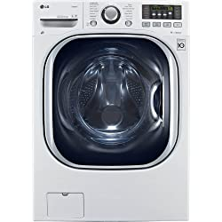 LG WM3997HWA 4.3 Cu. ft. Ventless Steam Washer/Tumble Dryer Combination with TurboWash