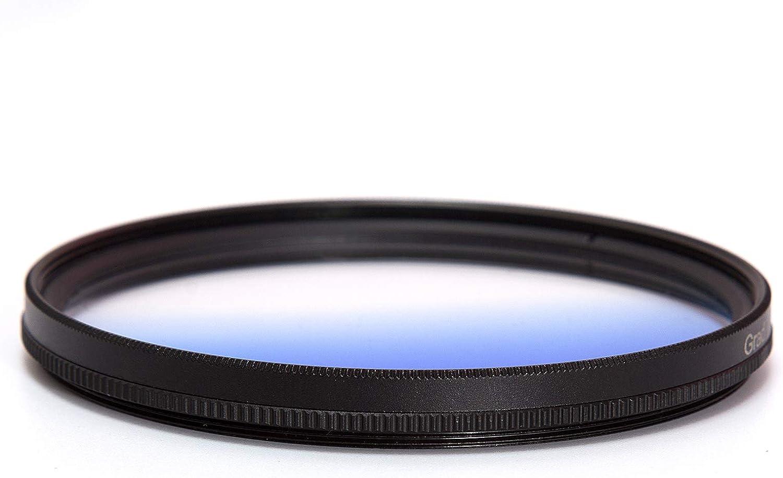 67mm Graduated Blue Lens Accessory Filter Kit Graduate Filters Grad Blue Filter for Canon 6D 5D Mark II 5D Mark III for Nikon D610 D700 D800 DSLR Cameras Lens Cleaning Cloth