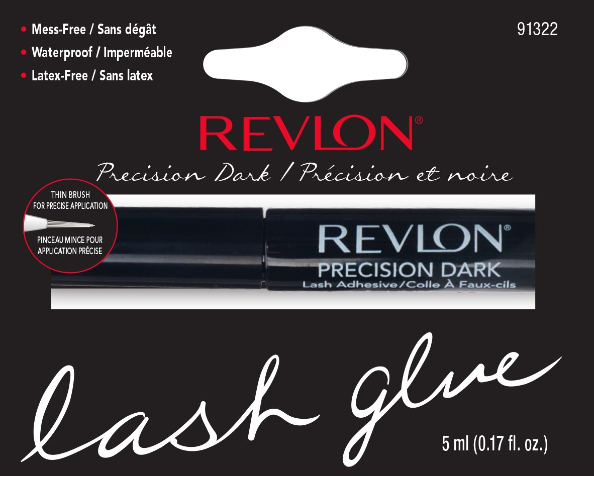 Revlon Lash Adhesive, Dark, 1 Count Pacific World Cosmetics 91322