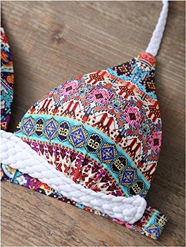Las mujeres Bikini/mujeres asociación impresa bikini set es un push-up swimsuit traje de baño baño swimwea beach wear Alle Codes