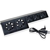 Gosear® En Plastique Refroidisseur Super Ventilateur De Refroidissement W / Câble Pour Console De Jeux Sony Playstation 4 PS4